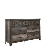 Muneeb 7 Drawer Double Dresser by Gracie Oaks