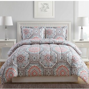 3 Piece Reversible Comforter Set