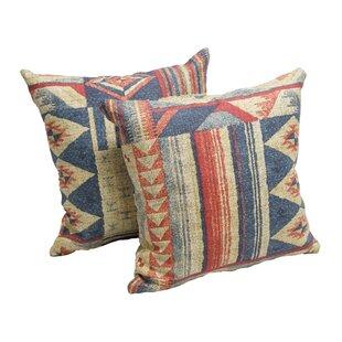 Carpentier Cotton Throw Pillow (Set of 2)
