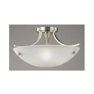 Buying Ducharme 3-Light Semi Flush Mount By Winston Porter