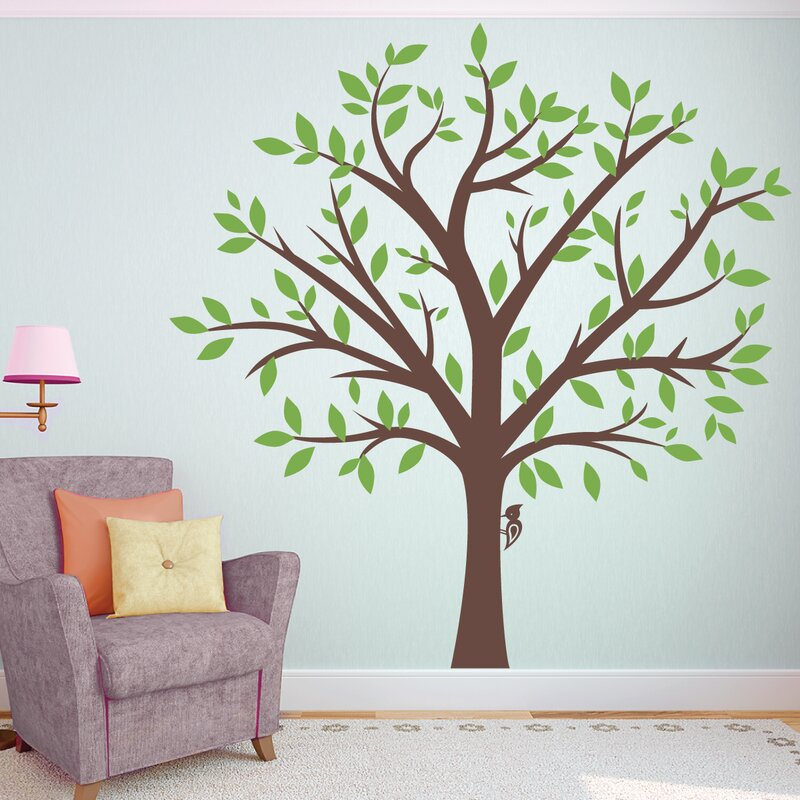 Large Family Tree Wall Decal & Wallums Wall Decor Large Family Tree Wall Decal u0026 Reviews | Wayfair