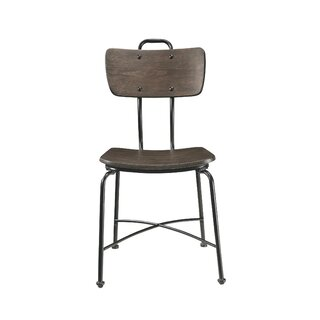 Annamaria Side Chair in Brown (Set of 2) by Williston Forge SKU:EC664871 Details