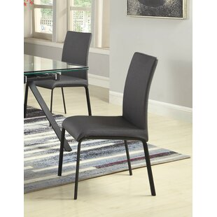 Julianne Upholstered Dining Chair (Set of 4) Orren Ellis