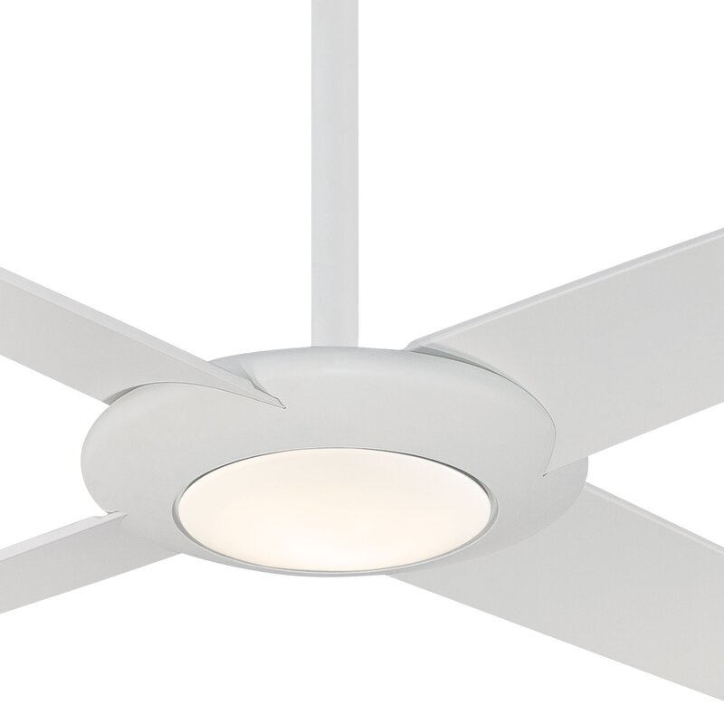 4 Blade Led Ceiling Fan With Remote