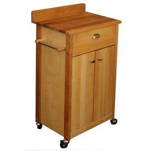 Butcher Block Kitchen Cart Catskill Craftsmen, Inc.