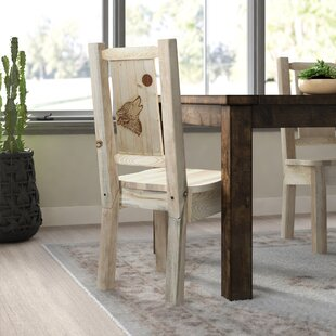 Affordable Price Abella Rustic Solid Wood Dining Chair by Loon Peak Reviews (2019) & Buyer's Guide