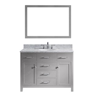 Kenilworth 48 inch  Single Bathroom Vanity Set with Mirror