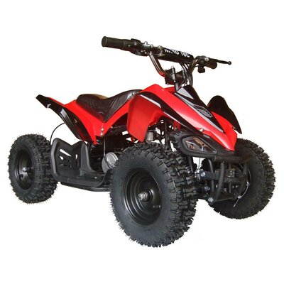 MotoTec 24V Battery Powered Ride-On Big Toys Color: Red