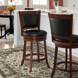 Edinburgh Swivel Bar & Counter Stool (Set of 2) by Darby Home Co
