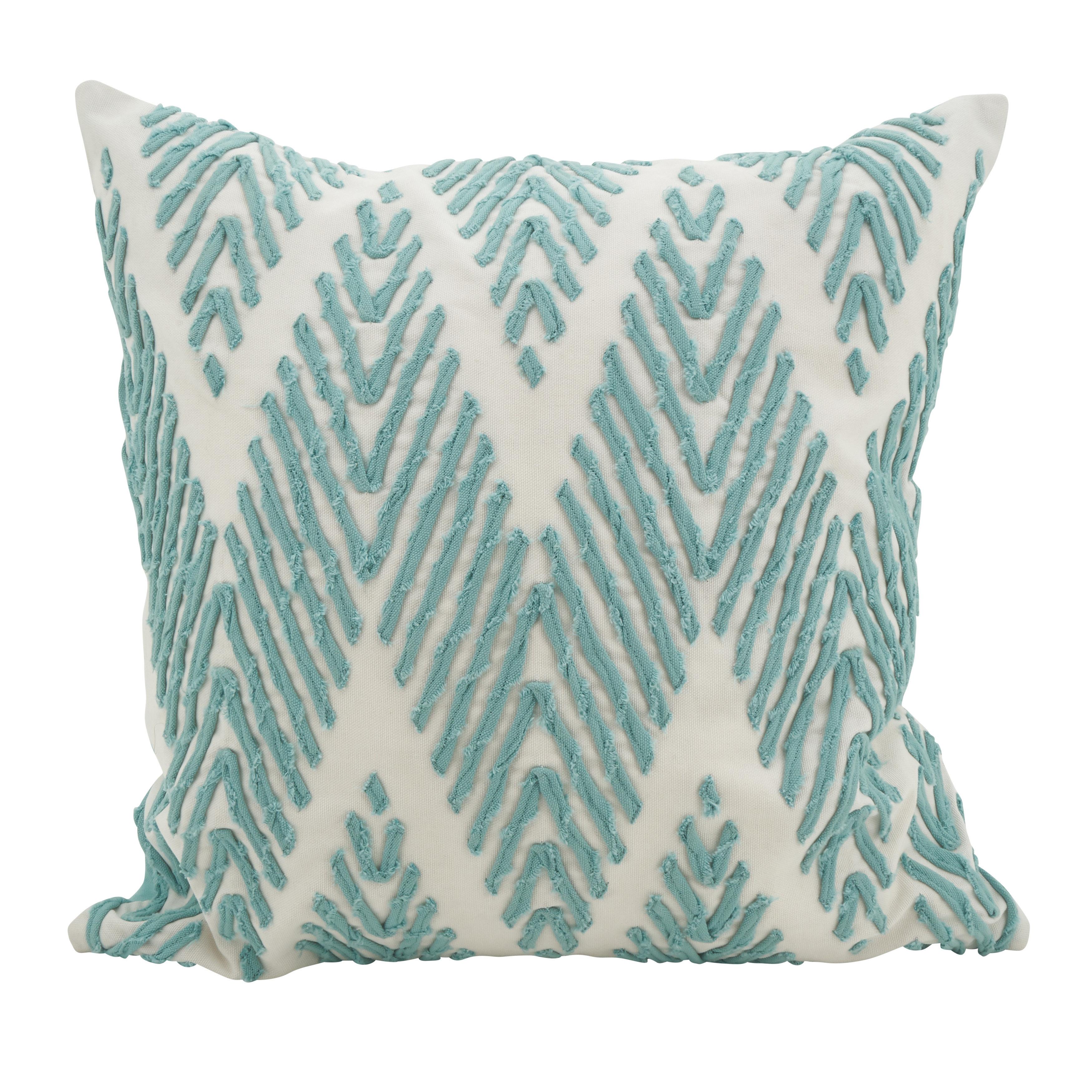 702f627e20b East Rolstone Chevron Cotton Throw Pillow