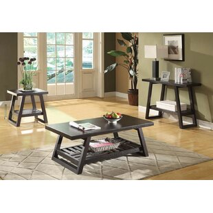 Tocco 3 Piece Coffee Table Set by Gracie Oaks Best Choices