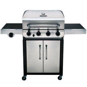 Performance 4-Burner Propane Gas Grill with Cabinet