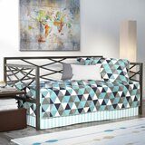 Beulah Metal Twin Daybed by Ebern Designs