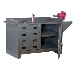 60W Steel Top Workbench by Durham Manufacturing