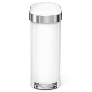 Ultra Slim Kitchen Trash Can | Wayfair