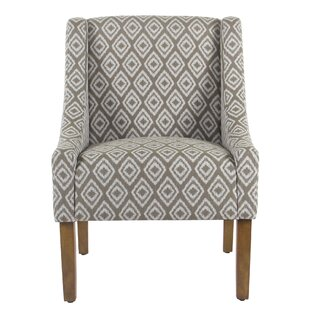 Letterly Swoop Side Chair by Bungalow Rose