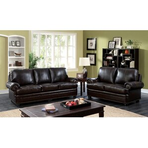 Enitial Lab Jagen Leather Configurable Living Room Set