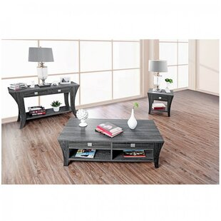Leary 3 Piece Coffee Table Set