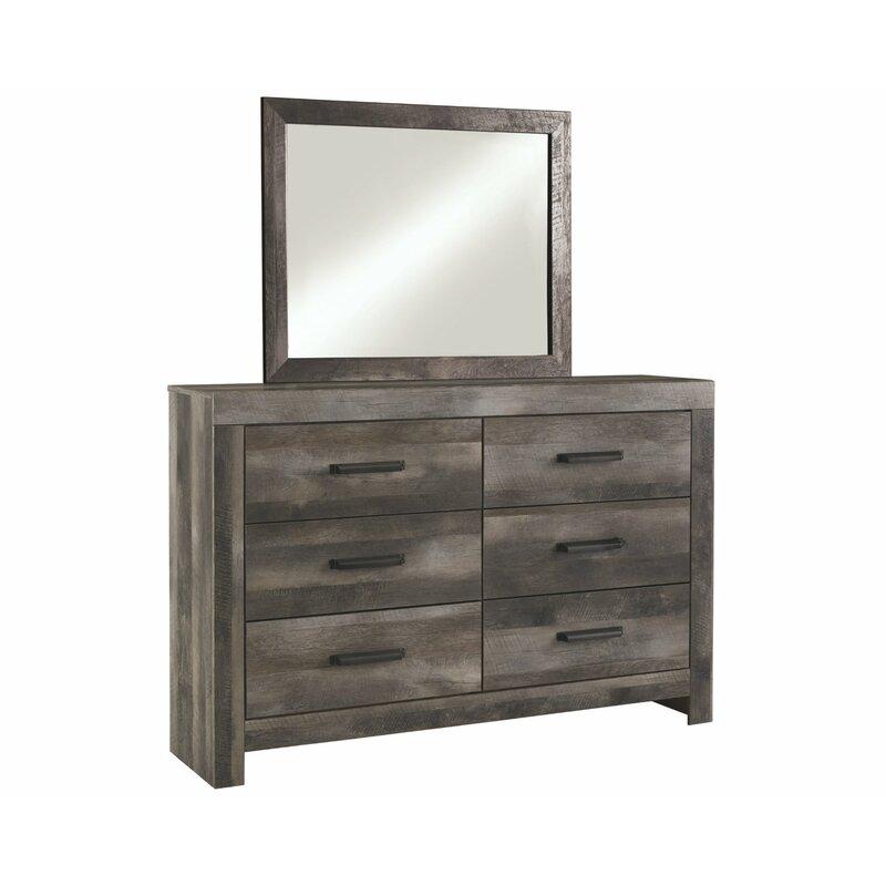 Laurel Foundry Modern Farmhouse Triston Bedroom Dresser Mirror