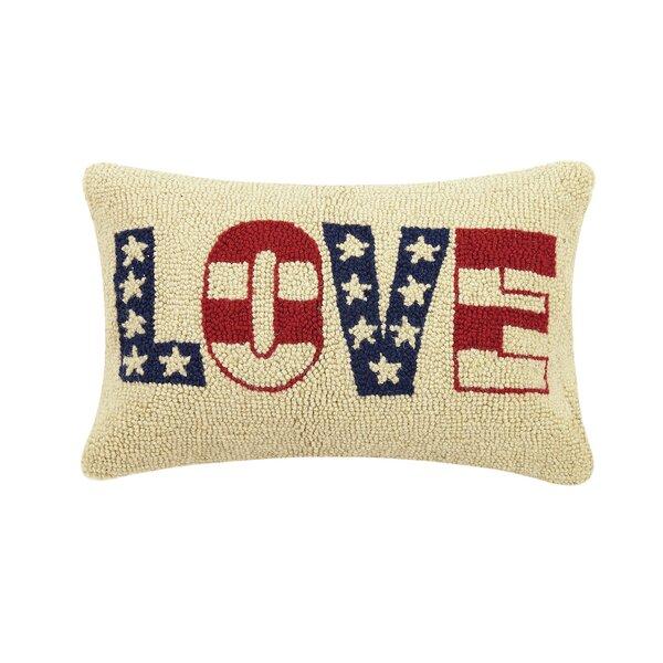 August Grove Satterfield Love Hook Lumbar Pillow Wayfair