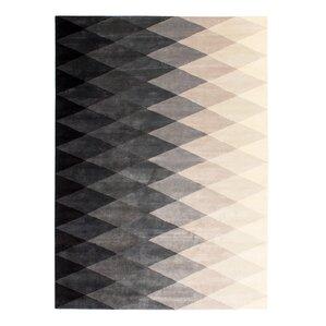Black And White Harlequin Rug Wayfair - Black and white harlequin bath mat for bathroom decorating ideas