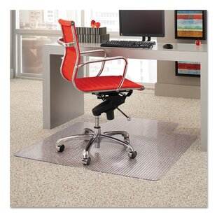 Affordable Price High Pile Carpet Beveled Edge Chair Mat by ES Robbins Corporation