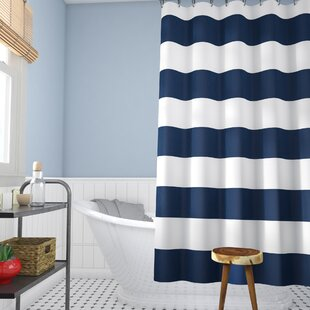 Berwyn Fabric Single Shower Curtain By Beachcrest Home