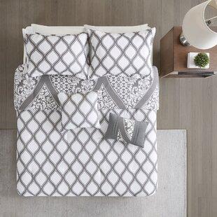 Rita 5 Piece Reversible Print Comforter Set