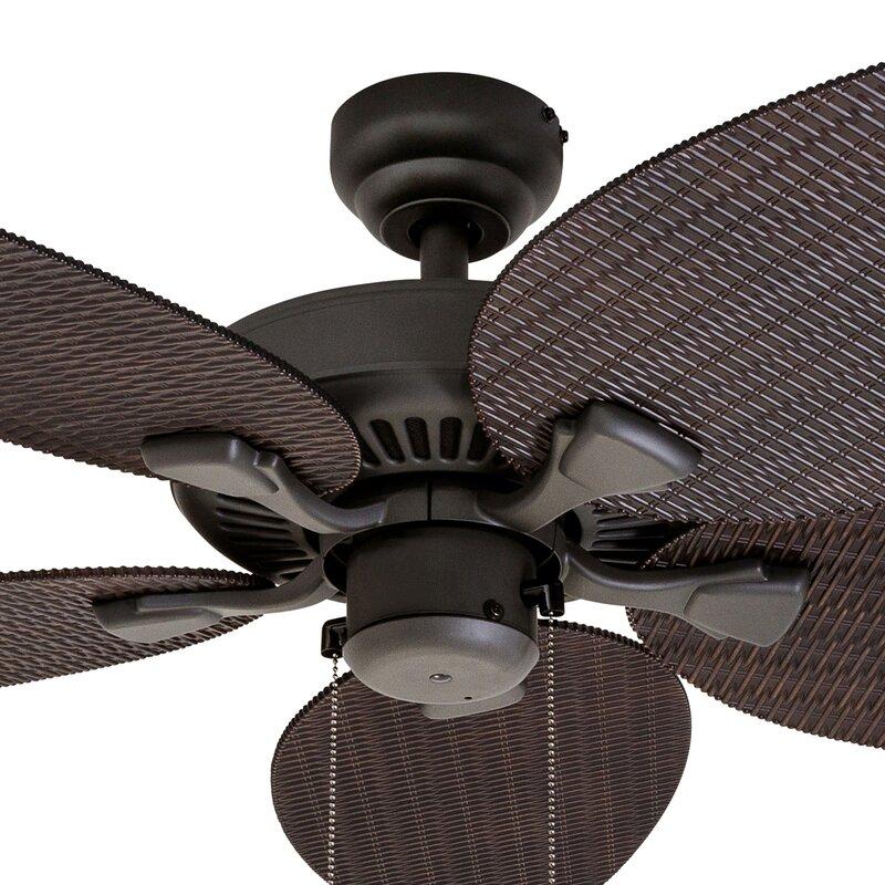 Bayou breeze 48 kalea 5 blade outdoor ceiling fan reviews wayfair 48 kalea 5 blade outdoor ceiling fan aloadofball Choice Image