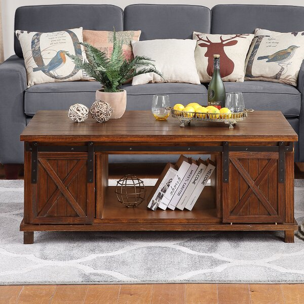 17 Stories Sievers 4 Legs Coffee Table With Storage Wayfair