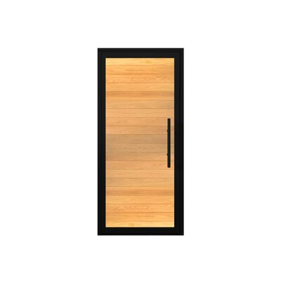 Statement Oak Standard Jamb Finished Prehung Front Entry Door Cbwwindowsanddoors Door Handing Left Hand Inswing Door Size 82 H X 36 W X 263 D