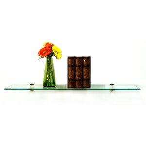 Floating Glass Shelves Wall Shelf