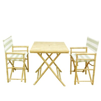 Buyers Choice Phat Tommy 3 Piece Bistro Set  Color: Kiwi