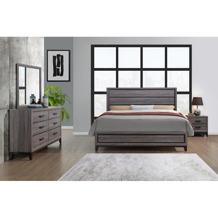 Jerold Standard 2 Piece Bedroom Set