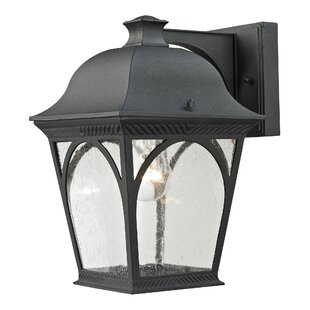 Affordable Grogan 1-Light Outdoor Wall Lantern By Alcott Hill