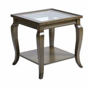Fisk End Table by Alcott Hill