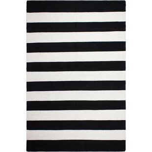 Find Nantucket Hand Woven Black Indoor/Outdoor Area Rug Reviews