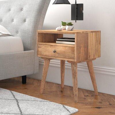 Nachttisch mit Schublade | Schlafzimmer > Nachttische | Mangoholz | Hazelwood Home