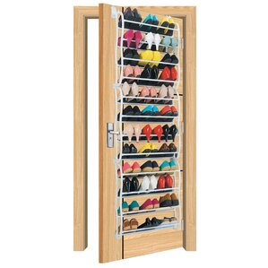 ondisplay 12tier 36 pair overdoor shoe organizer