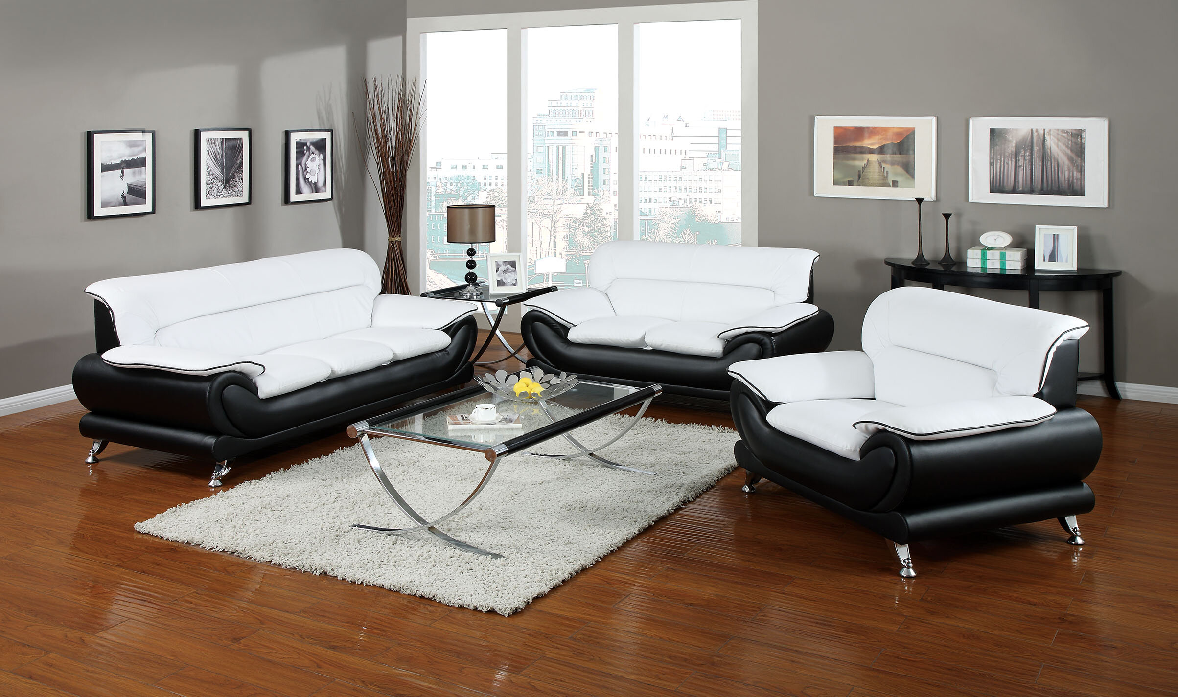 Orren Ellis Quays 3 Piece Living Room Set | Wayfair