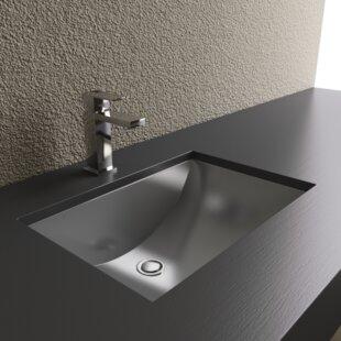 Find the perfect Metal Rectangular Undermount Bathroom Sink ByCantrio Koncepts