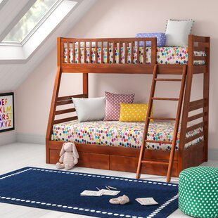 Felicia Twin over Full Bunk Bed with Storage