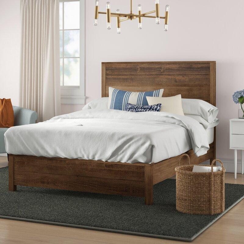 Bobbi Solid Wood Bed Reviews Joss Main