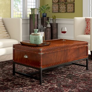 Mojica Coffee Table Trunk World Menagerie
