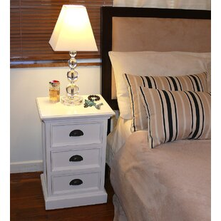 Fairmead 3 Drawer Nightstand by Breakwater Bay