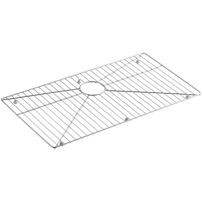 Kohler K 6644 St Vault Strive Stainless Steel Sink Rack For