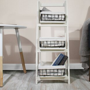 Foldable Ladder Bookcase JIA HOME