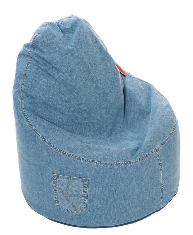 Denim Ezee Bean Bag Chair