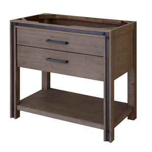 Reviews Urban Metallo 36 Bathroom Vanity Base Only By Sagehill Designs