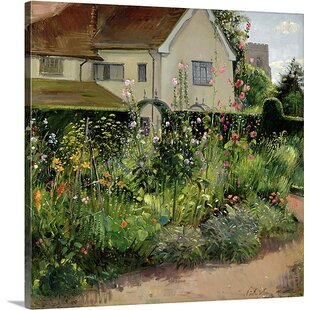 Corner Of The Herb Garden By Timothy Easton Painting Print On Canvas